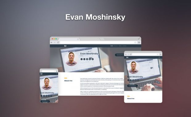 Evan Moshinsky responsive web design