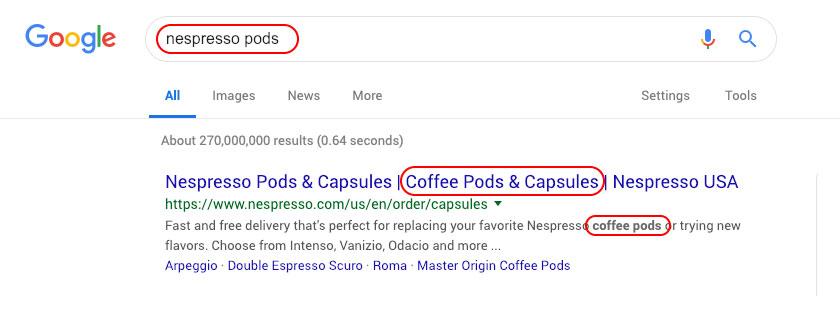 Nespresso Pods Google Search