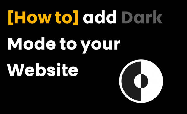 How to add dark mode to website